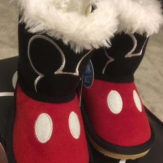 ディズニー(Disney)の【新品&未使用】ミッキー ブーツ 14センチ(ブーツ)