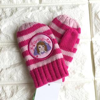 ディズニー(Disney)の❄️【 kidsフリー】 小さなプリンセス ソフィア ミトン 手袋 ディズニー(手袋)