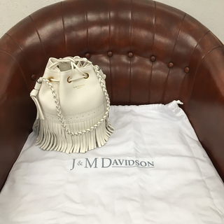 【正規品新品】J & M Davidson カーニバル M 入手困難 ホワイト