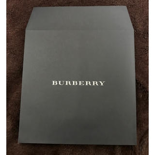 バーバリー(BURBERRY)のバーバリー ラッピング 紙袋(ラッピング/包装)
