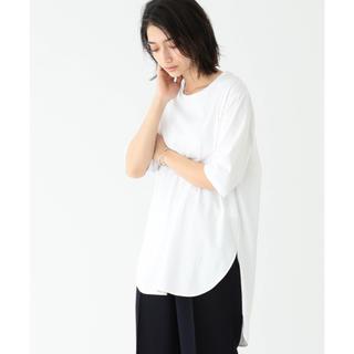 デミルクスビームス(Demi-Luxe BEAMS)の ATON / スビン ラウンドヘム Tシャツ(Tシャツ(半袖/袖なし))
