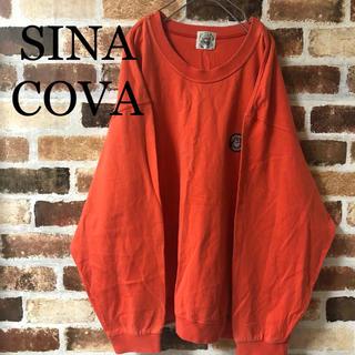 シナコバ(SINACOVA)の[ SINA COVA ]シナコバ オレンジ トレーナー スウェット レトロ(スウェット)