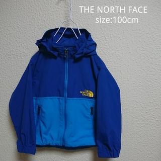 ザノースフェイス(THE NORTH FACE)のノースフェイス キッズ コンパクトジャケット ウインドブレーカー 100cm(ジャケット/上着)