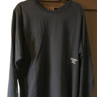 ユニフォームエクスペリメント(uniform experiment)のuniform experiment ロングスリーブT ネイビー(Tシャツ/カットソー(七分/長袖))