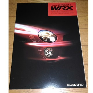 スバル(スバル)のスバル インプレッサWRX カタログ(カタログ/マニュアル)