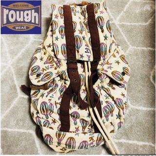 ラフ(rough)のrough 気球柄リュックサック☆(リュック/バックパック)