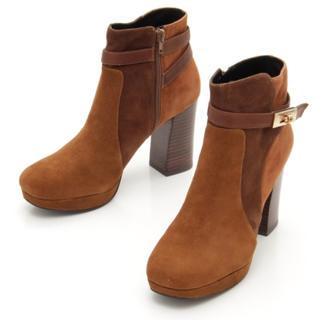 サヴァサヴァ(cavacava)のcavacava 新品♡定価23,760円 キャメル 羊革ショートブーツ(ブーツ)