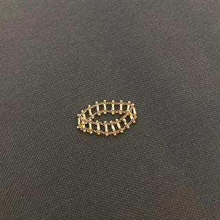 ココシュニック(COCOSHNIK)のココシュニックキラキラチェーンのリング(リング(指輪))