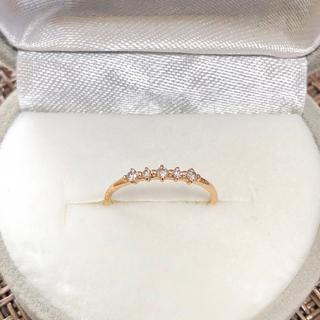 K10YG★1号★ダイヤ ピンキー リング(リング(指輪))