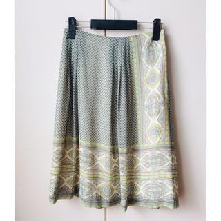 アマカ(AMACA)の膝丈スカート AMACA サイズ36(ひざ丈スカート)