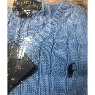 ポロラルフローレン(POLO RALPH LAUREN)の新品未使用 ラルフローレン ニットベスト 110 (ドレス/フォーマル)