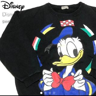 ディズニー(Disney)の#3035 Disney ディズニー 90s 90年代ドナルドダック スウェット(スウェット)
