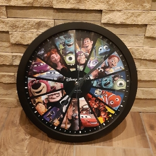 ディズニー(Disney)の【新品】ディズニー ピクサー掛け時計(掛時計/柱時計)