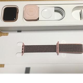 アップルウォッチ(Apple Watch)のApple Watch series4(セルラーモデル)(腕時計(デジタル))