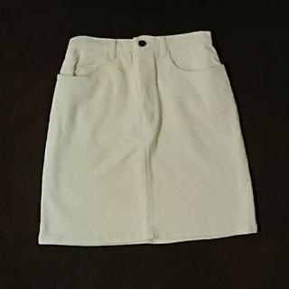 ギャルフィット(GAL FIT)のコーデュロイのスカート (GAL FIT)(ミニスカート)