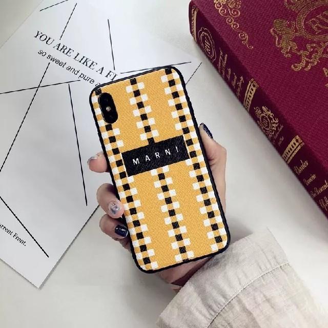 iphonexケース ブランド メンズ | Marni - iphonecase iphoneケース ブランド 人気 可愛い iphonexの通販 by hh's shop|マルニならラクマ
