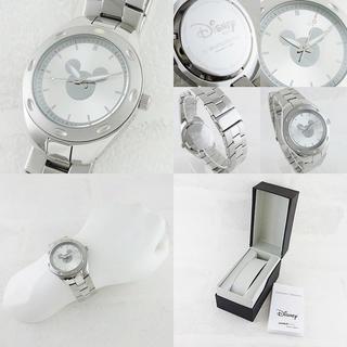 ディズニー(Disney)の新品 ディズニー 腕時計 メンズ ミッキーマウス W001903 シルバー(腕時計(アナログ))