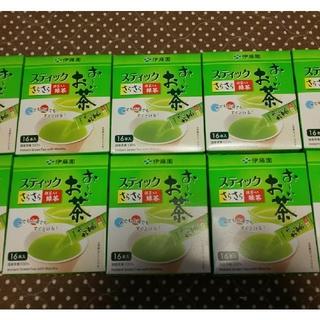イトウエン(伊藤園)のおーいお茶 スティック 6箱  (16本入り×6箱)(茶)