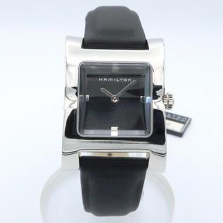 【希少モデル】ハミルトン 腕時計 サテンレザー H20211331 アウトレット