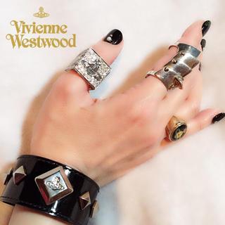 ヴィヴィアンウエストウッド(Vivienne Westwood)の廃盤 希少!美品✨ヴィヴィアンウエストウッド ディアマンテ ダイスリング M(リング(指輪))
