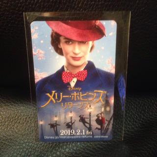 ディズニー(Disney)のメリーポピンズリターンズ、使用済みムビチケカード(洋画)