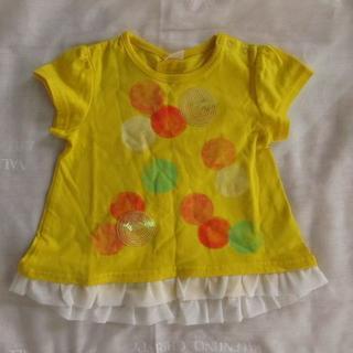 ムージョンジョン(mou jon jon)の【美品】80センチmoujonjonのTシャツ(半袖)(Tシャツ)
