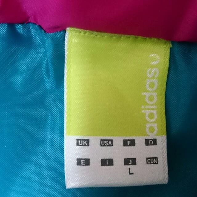 adidas(アディダス)のadidas アディダス ダウン ピンク レディース レディースのジャケット/アウター(ダウンジャケット)の商品写真