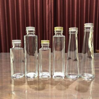 *選べるハーバリウム瓶 &フタ*5本セット*消毒済み*(その他)
