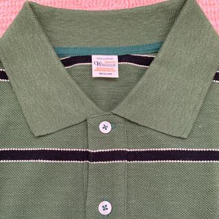 ウエアハウス(WAREHOUSE)の新品 ウエアハウス ボーダーポロシャツ(ポロシャツ)