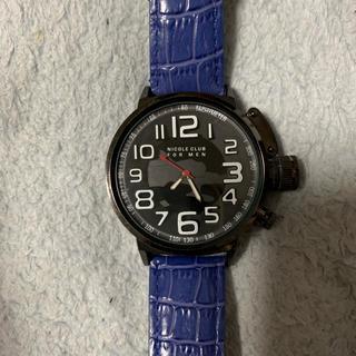 ニコルクラブフォーメン(NICOLE CLUB FOR MEN)のNICOLECLUB 腕時計(腕時計(アナログ))