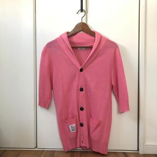 ジョゼフ(JOSEPH)のメンズセーター半袖 ピンク(ニット/セーター)