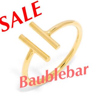 バウブルバー(BaubleBar)のSALE. BaubleBar Parallel Bar指輪(リング(指輪))