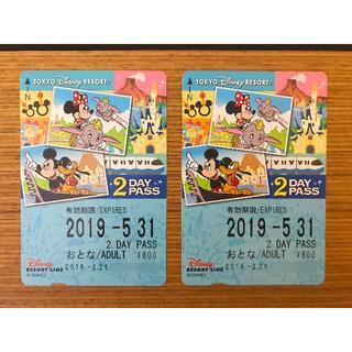 ディズニー(Disney)のディズニーリゾートライン 2days(鉄道乗車券)