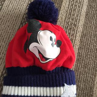 ディズニー(Disney)のミッキーニット帽(ニット帽/ビーニー)