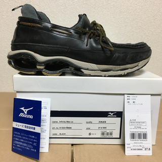 マウンテンリサーチ(MOUNTAIN RESEARCH)のMountain Research  mizuno INFINITY 9 27㎝(スニーカー)