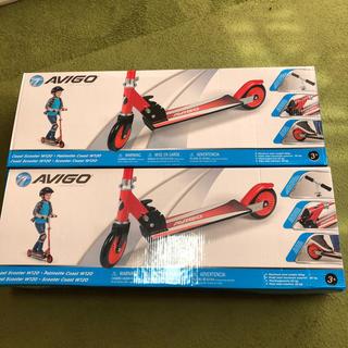 トイザラス(トイザらス)のavigo キッズスクーター 2台セット(三輪車)