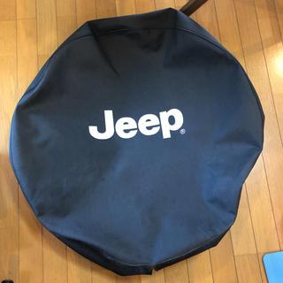 ジープ(Jeep)のjeep タイヤカバー(車外アクセサリ)