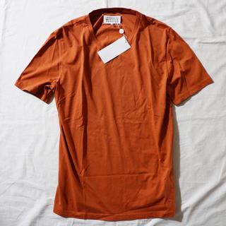 マルタンマルジェラ(Maison Martin Margiela)の新品 52サイズ Maison Margiela 10 Tシャツ オレンジ(Tシャツ/カットソー(半袖/袖なし))