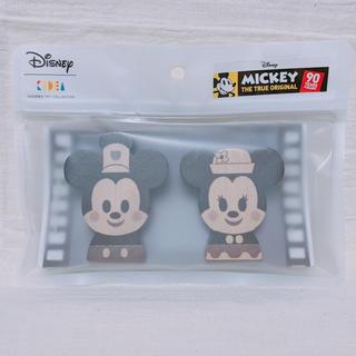 ディズニー(Disney)の【完売品】KIDEA 蒸気船ウィリー ミッキー ミニー セット(積み木/ブロック)