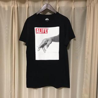 エーライフ(ALIFE)のALFE Tシャツ エーライフ カットソー 半袖 Tシャツ(Tシャツ/カットソー(半袖/袖なし))