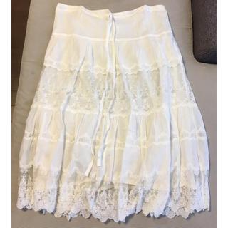 アパルトモンドゥーズィエムクラス(L'Appartement DEUXIEME CLASSE)のアパルトモン 2wayビンテージレーススカート(その他)
