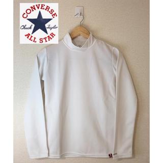 コンバース(CONVERSE)のコンバースオールスター ロングTシャツ 長袖Tシャツ ホワイト 白 M(Tシャツ(長袖/七分))