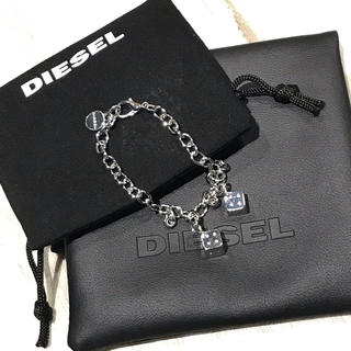 ディーゼル(DIESEL)の美品  ディーゼル ブレスレット X05126PR581(ブレスレット)