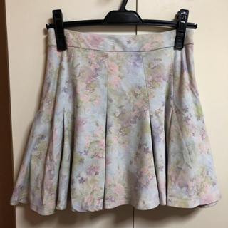 シークレットマジック(Secret Magic)のシークレットマジック 花柄スカート(ミニスカート)
