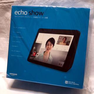 エコー(ECHO)のamazon echo show 第2世代 チャコール(スピーカー)
