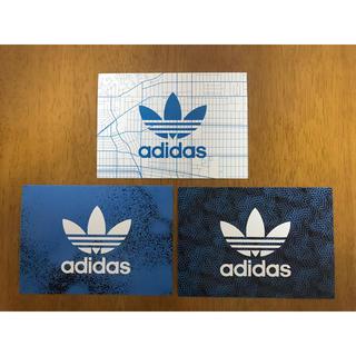 アディダス(adidas)の新品未使用 adidas アディダス ポストカード 3枚セット(その他)