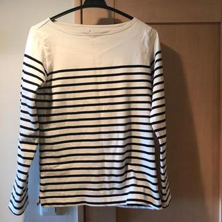 MUJI (無印良品) - 無印 ボーダーシャツ Mサイズ レディース