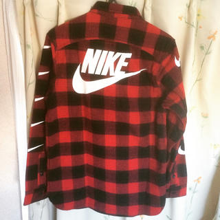ナイキ(NIKE)のNIKE チェックシャツ (シャツ)