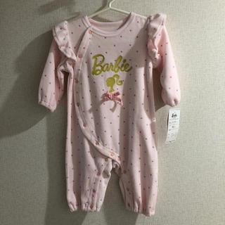 バービー(Barbie)の新品🎀Barbie baby ロンパース 80(ロンパース)