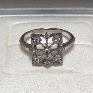 ミキモト(MIKIMOTO)の素敵! ミキモト  ダイヤ0.16ct K18 透かしデザインリング  (リング(指輪))